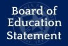 Board of Education Statement