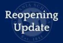Reopening Updates