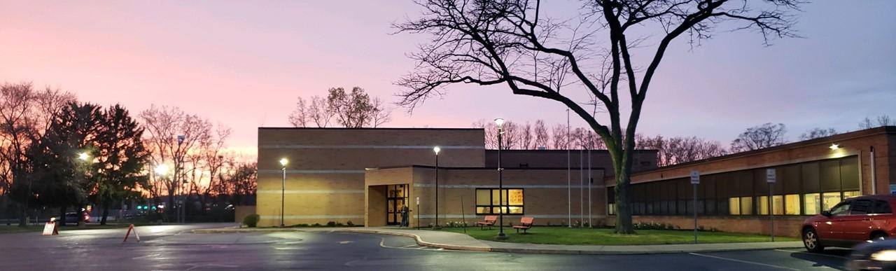 Stranahan Elementary at dusk
