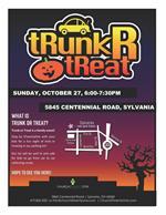 Trunk or Treat Oct 27 - details in description