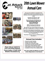 Lawn Mower Annual Care at Southview on Nov 16th