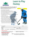 Hockey flyer - information available in flyer description