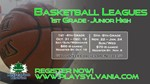 Fall Basketball Leagues 1st-8th Grade - Details in program description